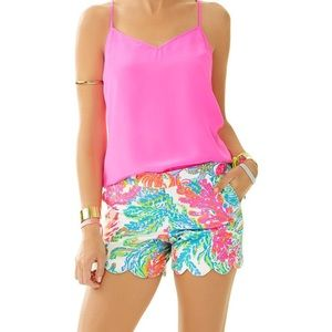 Lilly Pulitzer Buttercup Shorts Resort Marina - 6